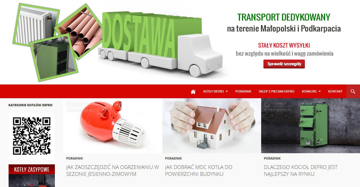 Baner blog piece Defro transport dedykowany